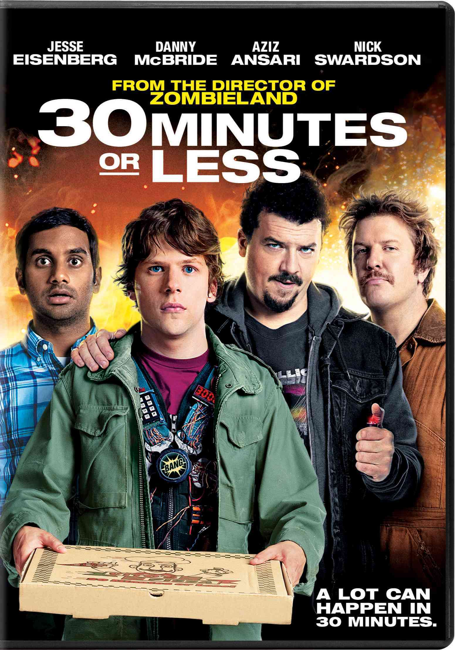 30 MINUTES OR LESS BY EISENBERG,JESSE (DVD)